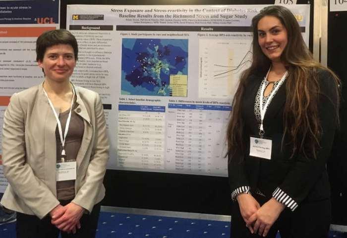 Viktoryia and Jacinda at APS